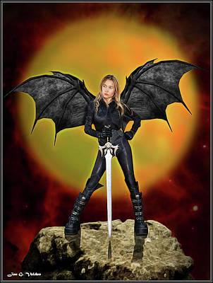 Photograph - Succubus Sentry by Jon Volden
