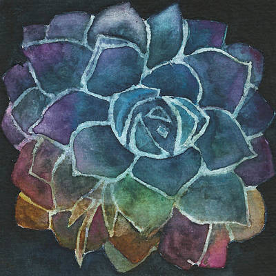 Painting - Succulent 1 by Garima Srivastava