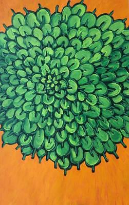 Painting - Succulent  by Matthew Brzostoski