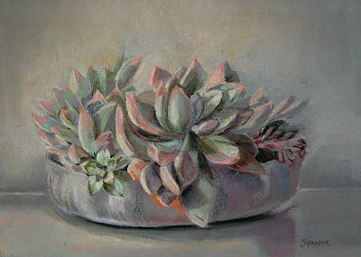 Painting - Succulent by Synnove Pettersen