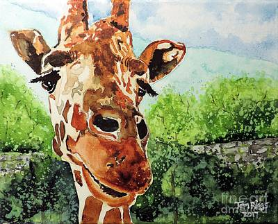 Painting - Such A Sweet Face by Tom Riggs