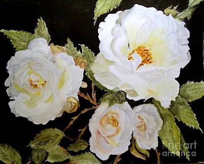 Painting - Such Love In A Flower  by Carol Grimes
