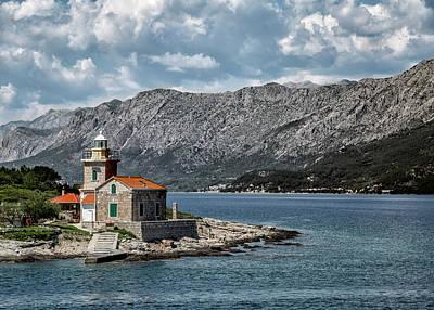 Sucuraj Lighthouse - Croatia Art Print by Lindley Johnson