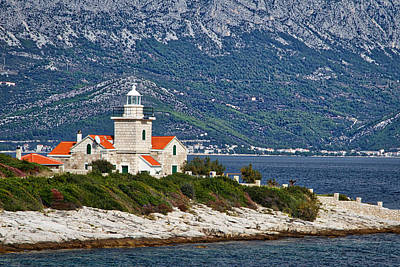 Photograph - Sucuraj Lighthouse - Croatia by Stuart Litoff