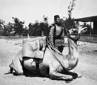 Colonial Man Photograph - Sudan: Colonial Soldier by Granger