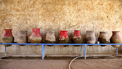 Photograph - Sudan Water Jars by Marcus Best