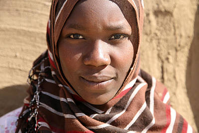 Photograph - Sudanese Girl by Marcus Best