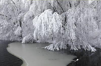 Photograph - Sudbury Reservoir Winter Scenery by Juergen Roth