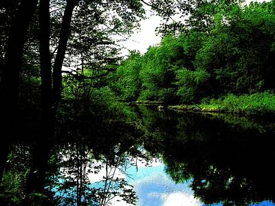 Sudbury River In Ashland Art Print