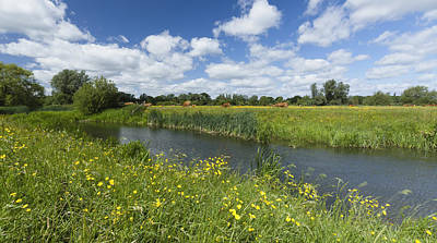 Photograph - Sudbury Summer Meadows by Ian Merton
