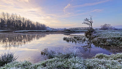 Photograph - Sudbury Water Meadows by Ian Merton
