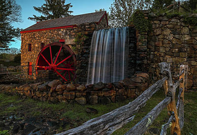 Photograph - Sudbury Watermill by Juergen Roth