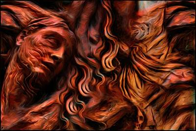 Indifference Digital Art - Suffering And Indifference - The Right To Dignity by Daniel Arrhakis