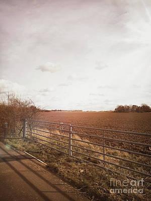 England Photograph - Suffolk Farmland View by Tom Gowanlock