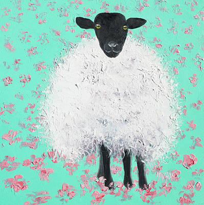 Painting - Suffolk Sheep  by Jan Matson