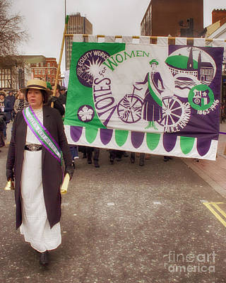 Photograph - Suffragette by Linsey Williams