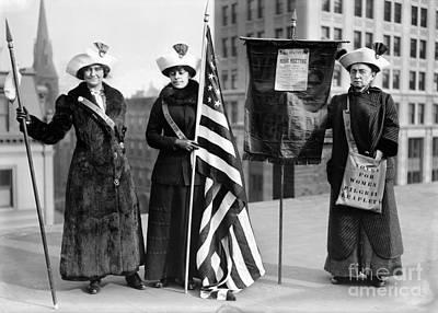 Suffragettes, C1910 Art Print by Granger