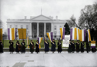 Photograph - Suffragettes by Granger