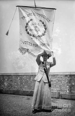 Photograph - Suffragist, C1912 by Granger