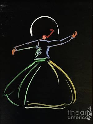 Sufi Art Print
