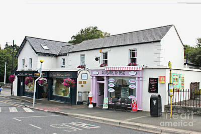 Photograph - Sugar And Ice Cream Shop In Enniskerry - Ireland  by Doc Braham