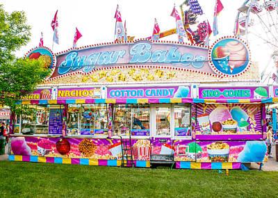Junkfood Photograph - Sugar Babes Stall At A Fair by Art Spectrum
