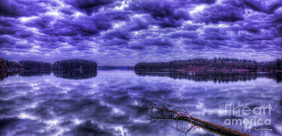 Photograph - Sugar Creek Reflections Lake Oconee Georgia Art by Reid Callaway