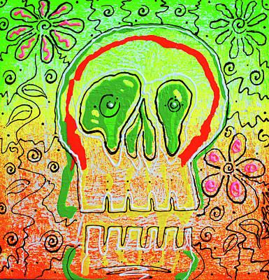 Outsider Painting - Sugar Crush by Laura Barbosa