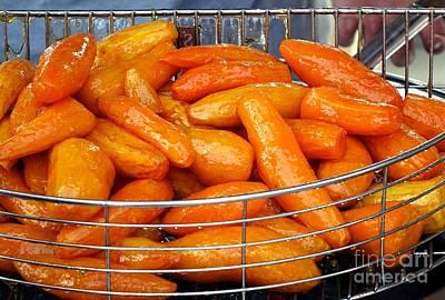 Photograph - Sugar Glazed Sweet Potatoes by Yali Shi
