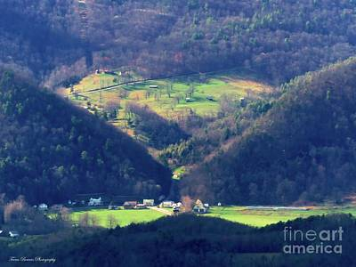 Sugar Grove Wv From Reddish Knob Art Print