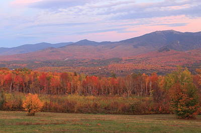 Photograph - Sugar Hill Sunset Hill Fall Foliage by John Burk