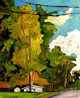 Change Painting - Sugar Maple Sunshine by Charlie Spear
