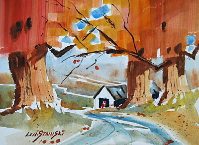 Painting - Sugar Maples by Len Stomski