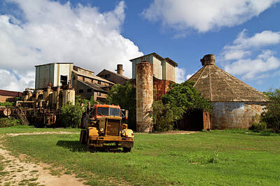 Sugar Mill And Truck Art Print