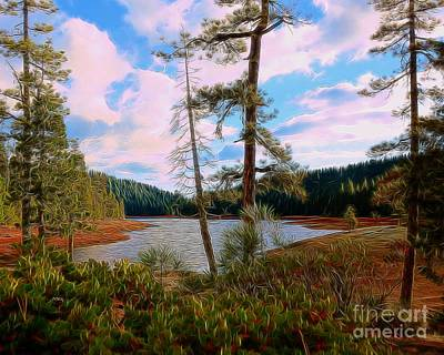 Photograph - Sugar Pine Lake by Patrick Witz