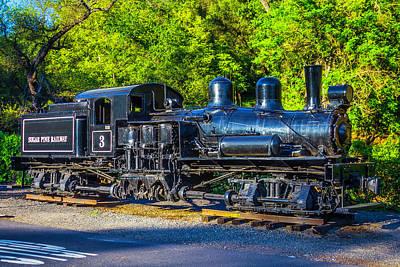 Sonora Photograph - Sugar Pine Railway Train by Garry Gay