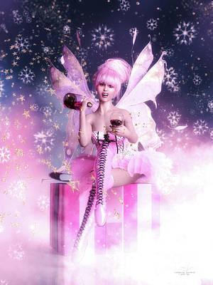 Fantasy Digital Art - Sugar Plum Fairy by Shanina Conway