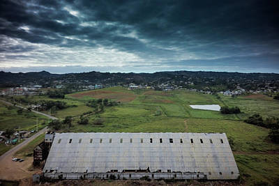 Wall Art - Photograph - Sugar Refinery In Aguada  by Giovanni Arroyo