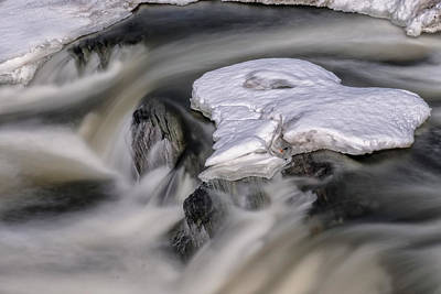 Photograph - Sugar River Flowing by Tom Singleton