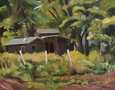 Painting - Sugar Shack by Nancy Griswold