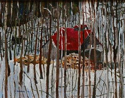 Borghese Painting - Sugar Shack by Rod Borghese