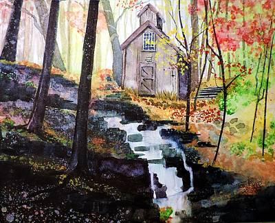 Painting - Sugar Shack by Tom Riggs