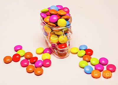 The Buffet Photograph - Sugar Skull Candy Jar by Jorgo Photography - Wall Art Gallery