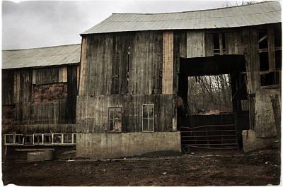Photograph - Sugarbush Farm Barn by Mike Martin