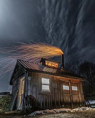 Photograph - Sugarhouse 2017 by Tim Kirchoff