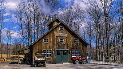 Photograph - Sugaring Season by Scenic Vermont Photography