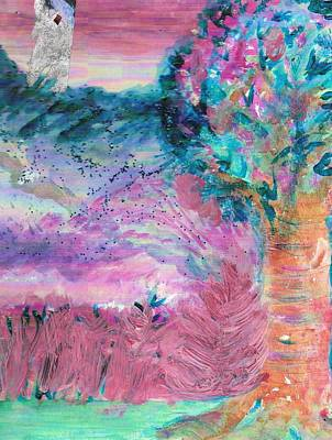 Sugarland Dream Tree  Art Print by Anne-Elizabeth Whiteway