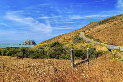 Art Print featuring the photograph Sugarloaf Island On The Lost Coast by James Eddy