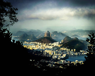 Photograph - Sugarloaf Mountain And Guanabara Bay In Rio De Janeiro, Brazil by Alexandre Rotenberg