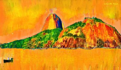 Western Art - Sugarloaf Of Rio 23 - PA by Leonardo Digenio